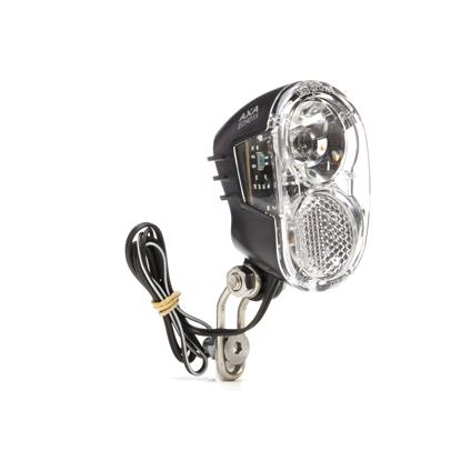 AXA Echo 15 Commutateur DEL vélo-phares pour moyeu dynamo avec support et câble