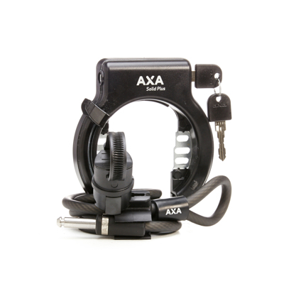 in Opening Key not Deductible Axa Solid plus Frame Lock with Plug